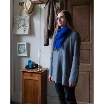 Echarpes tricotées Mohair