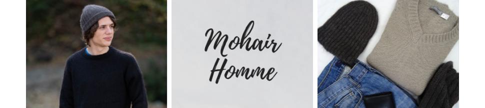Vêtements homme en laine Mohair