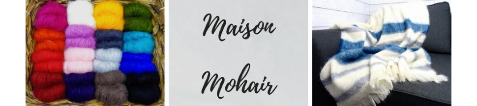 Articles pour la maison en laine Mohair